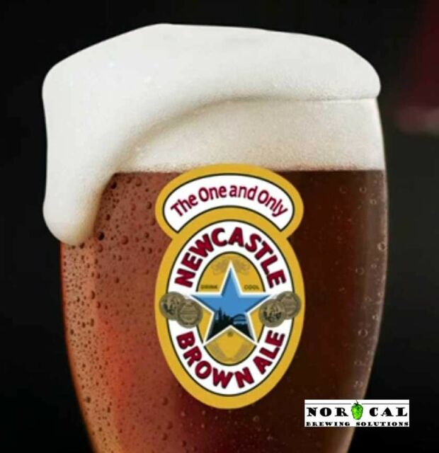 NorCal Brewing Homebrew Beer Recipe Kit - Newcastle Brown Ale Extract 5 Gallon
