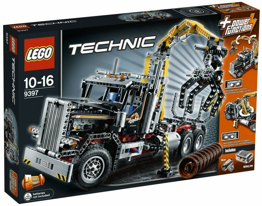 LEGO Technic 9397 - Logging Truck    Camion Forestier - NEW SEALED BOX