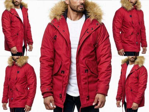 Fourrure Exclusif Hommes Style Parka Fashion Veste Hiver Manteau Jeune Capuche 0qg0aH