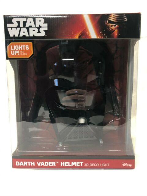 3dlightfx Star Wars Darth Vader Helmet 3d Deco Light For Sale Online Ebay