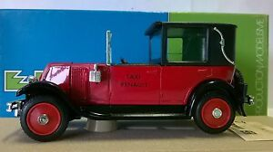 ELIGOR-1-43-AUTO-DIE-CAST-RENAULT-KZ-1928-TAXI-PARISIEN-ROSSO-1042-C