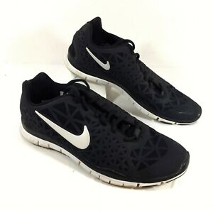 Details about GUC Women's Nike Free 5.0 TR Fit 3 Black Running Shoes Sz 10