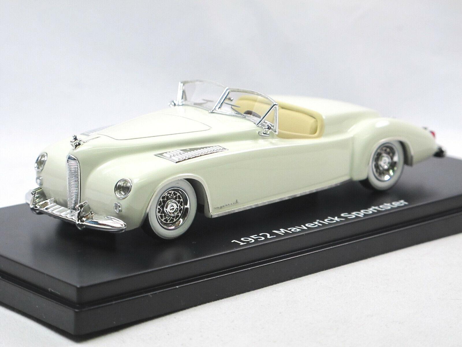 Esval Models - 1952 Maverick boattail Sportster bianca Limited Edition 250 1 43