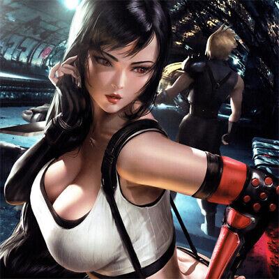 Tifa Lockhart Signed Art Print Square Enix Final Fantasy Vii 7 Game Sexy Cloud Ebay