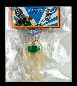 NEW-2004-Japan-Gargamel-Kaiji-Sofubi-Micronauts-Microman-Time-Traveler-Vinyl-MIP