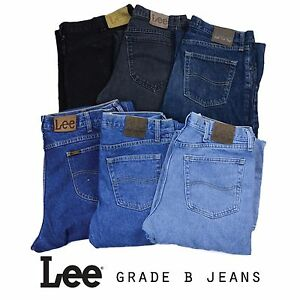 VINTAGE-LEE-JEANS-REGULAR-FIT-DENIM-GRADE-B-30-31-32-34-36-38
