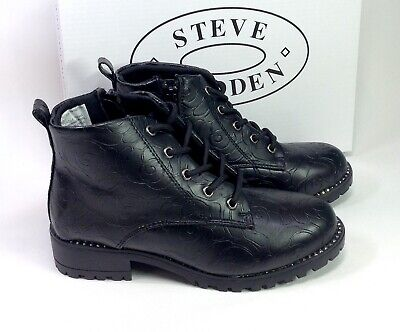 Stevies by Steve Madden Girls Jeweled Leopard Ballet Flat Shoe NEW
