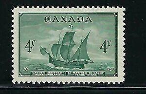 CANADA - SCOTT 282 - VFNH - NEWFOUNDLAND - 1949