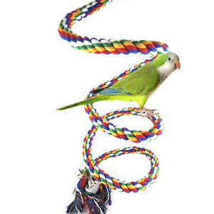Funny-Bird-Parrot-Chew-Rope-Climbing-Rope-Bell-Bird-Perch-Coil-Swing-Toy