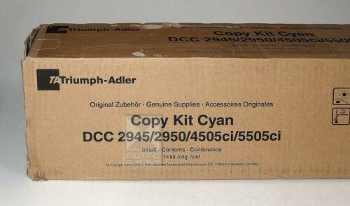 TA Triumph-Adler Toner Kit DCC 2945 2950 4505ci 5505ci Cyan 654511111