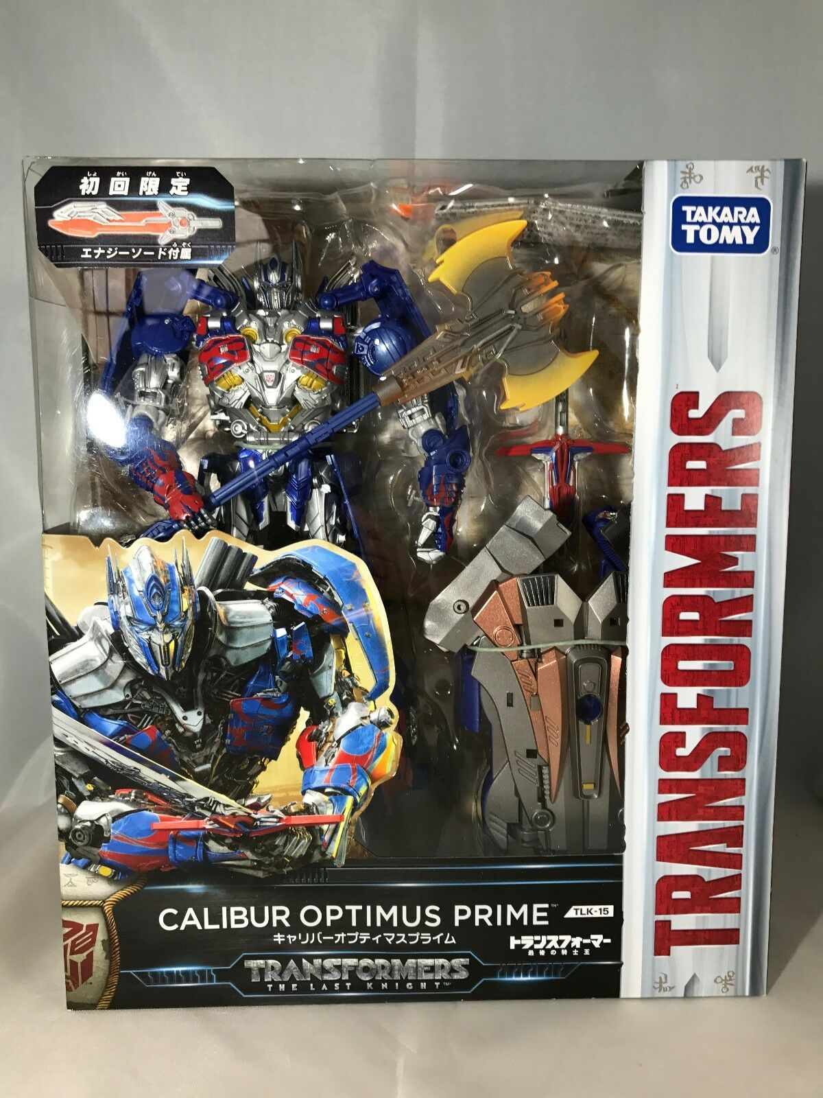 Die tlk-15 calibur optimus prime edition japan