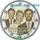 NOUVEAU 2 € LUXEMBOURG 2012 PIECE NEUVE MARIAGE DISPONIBLE