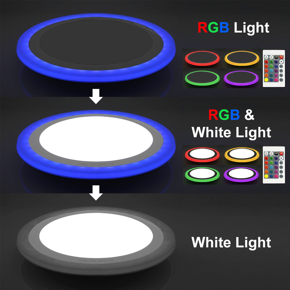 Colour Changing Ring Is An Amazing And Unique Concept In Led Panel Light The Of Can Be Changed With Remote 16 Effects