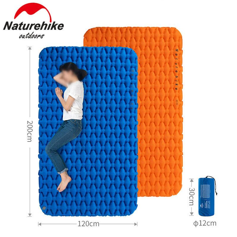Ultra Leggero 2 Persona Gonfiabile Cuscino Impermeabile Tenda Dormire Mat Camp