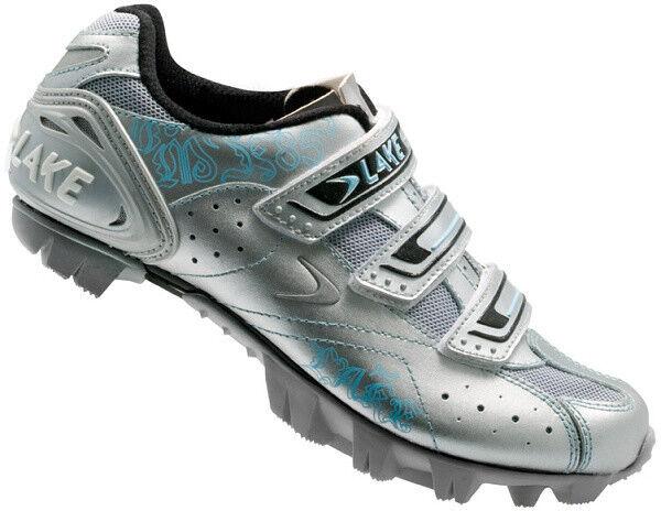 Mountainbike schuhe Lake MX85-W Silber Blau Damenschuh MTB Größe Größe Größe 39 8c3cda
