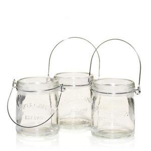 New-in-box-Yankee-Candle-Mini-Mason-Canning-Jars-Tea-Light-Holder-Set-Of-3