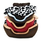 Pet Bed House Dog Cat Kennel Beds Soft Fleece Dog Cat Cushion Igloo Free Blanket