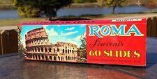 Vintage Color Slides Photographs Wonders of Rome Roma Souvenir Kodak Film 60!
