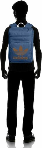 Adidas Originals Classic Trefoil Backpack Rucksack Bag Blue M30496