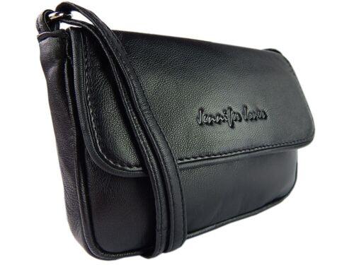 Kompakte elegante Damen Schultertasche Umhängetasche Leder mini Abendhandtasche
