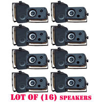 Lot Of (16) Pylehome Pdwr30b 3.5'' Indoor/outdoor Waterproof Speakers (black)