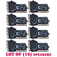 Lot Of (16) Pylehome Pdwr30b 3.5'' Indoor/outdoor Waterproof Speakers (black) on sale