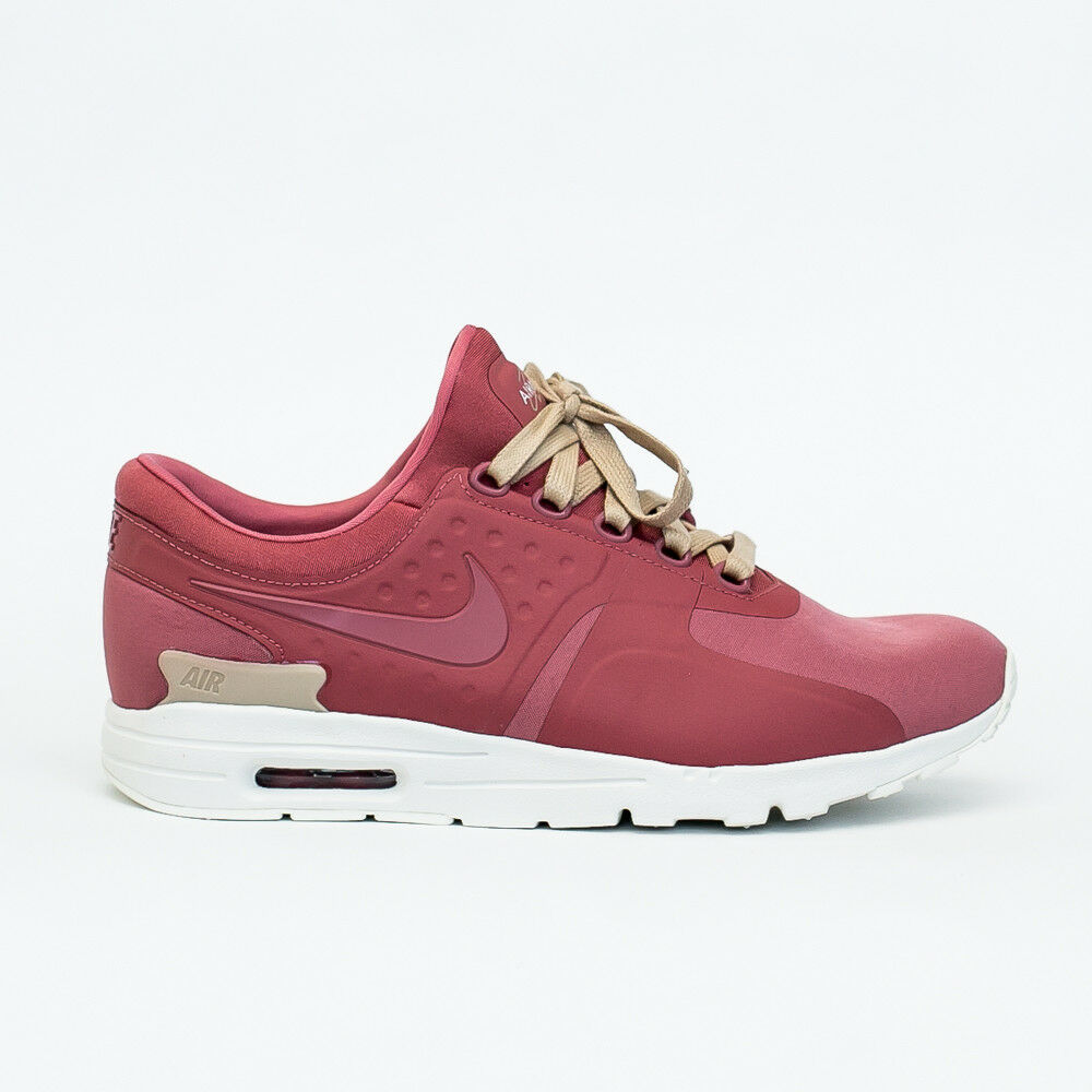 WOMEN'S NIKE AIR MAX ZERO CS CASUAL SHOES LIGHT REDWOOD AA3170 800