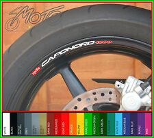 8 x APRILIA CAPONORD 1200 wheel rim decals stickers - 1200 1197 etv mt capo nord
