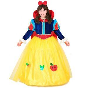 Costume Biancaneve lusso Vestito Carnevale Pegasus Principesse
