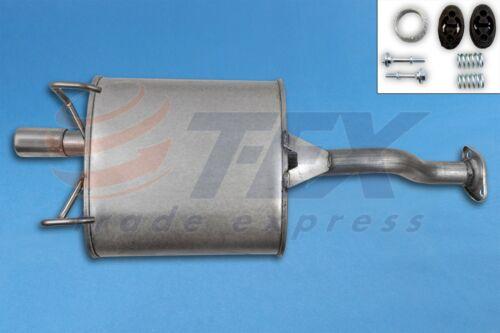 Montagesatz Auspuff Honda Civic 1.4i 16V  Fliessheck 3-Türig Endschalldämpfer