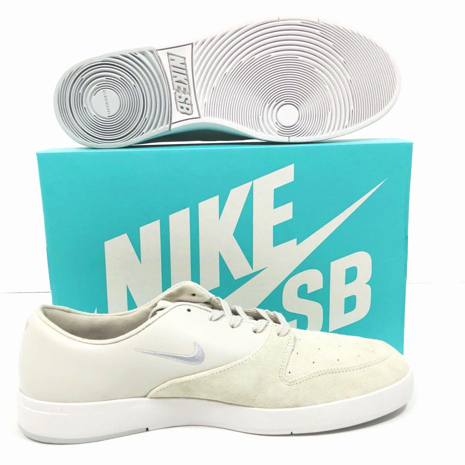 various colors 594fe 7f7d5 Nike SB Zoom Mens White Size 12 Paul Rodriguez Rodriguez Rodriguez  Skateboarding Shoe 918304-101
