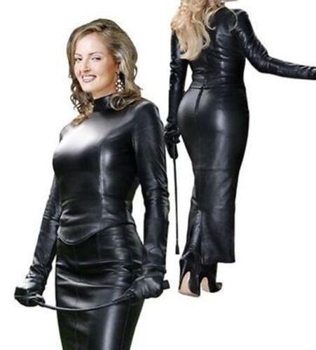 Femmes Pour Coat Cuir En En Véritable Cuir Hiver D'agneau l Tailles xl xxl m S Trench IxTqdAwtx