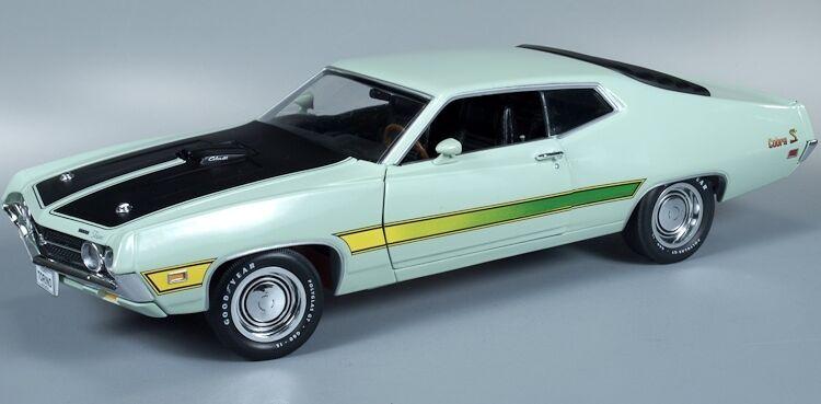 1971 Ford Torino Cobra Lt Grün 1 18 Auto Welt 992