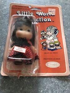 VTG-Little-World-Collection-Spain-Doll-Sold-at-Kmart-Ships-Fast