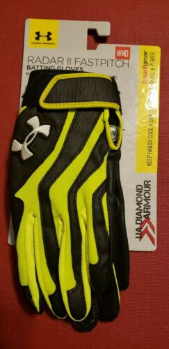 Under Armour UA Womens Radar II Fastpitch Batting Gloves NEW sold in pairs