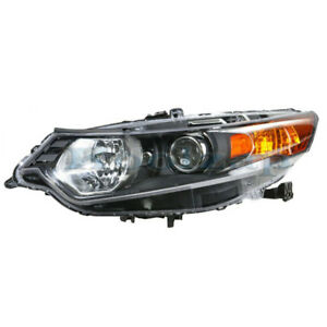 TYC For Headlight Headlamp Front Head Light Left Driver Side SAE//DOT Approved