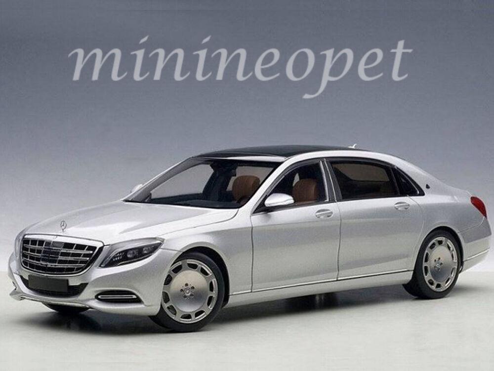 AUTOART 76292 Mercedes Benz Maybach S-Klasse S 600 1 18 Voiture Modèle Argent