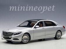 AUTOart 76292 MERCEDES BENZ MAYBACH S-KLASSE S 600 1/18 MODEL CAR SILVER