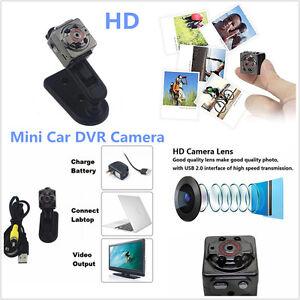Mini Car DV DVR Camera Full HD 1080P Spy Hidden Camcorder With IR Night Vision