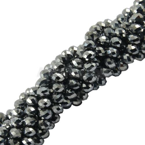 Muster Edelstein Loose Perlen Gemstone Spacer Beads Schmuck DIY Ver