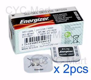 2-pcs-Energizer-362-SR721SW-Silver-Oxide-Watch-Battery-Made-in-USA-FREE-POST-WW