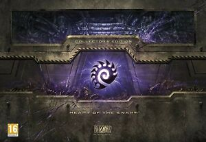 STARCRAFT-II-2-COLLECTORS-EDITION-HEART-OF-THE-SWARM-PC-GAME-BLIZZARD-SEALED