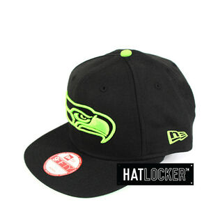 5a0013377a618 Details about New Era - Seattle Seahawks Team Pop Snapback