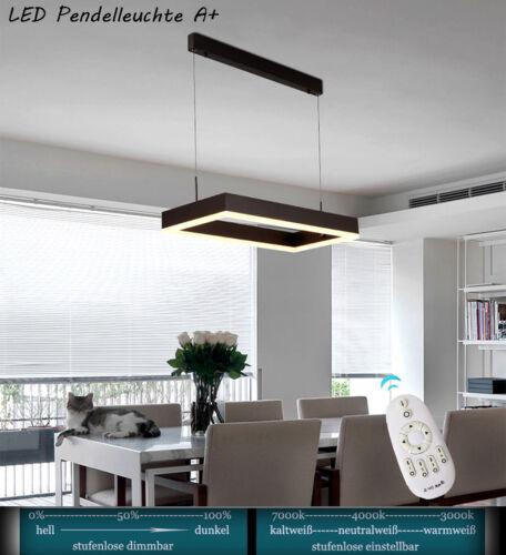 Pendelleuchte LED NWDD146 Lichtfarbe und Helligkeit einstellbar Acryl Sparsam A+