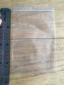 Lot de 100 sachets zip 180 x 120 mm neufs (pour bijoux / pièces...)