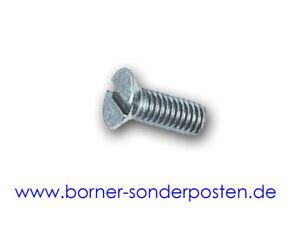 Senkschrauben-mit-Schlitz-verzinkt-M3-x-10-DIN-963-4-8-1-1000-Stk-Fastbolt-neu