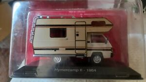 Camping car 1/43 Collection Achette  Modèle Hymercamp 2  1984