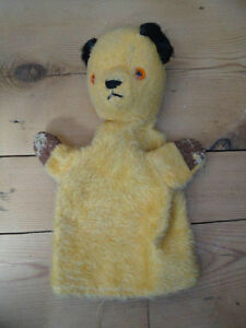 Vintage-Sooty-Teddy-Bear-Hand-Puppet-Chad-Valley-Toy-Co-England-Collectable-K