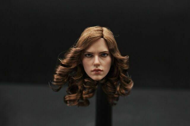 "ZC TOYS 1//6 Scarlett Johansson Black Widow Head Sculpt Model F 12/"" Female Body"