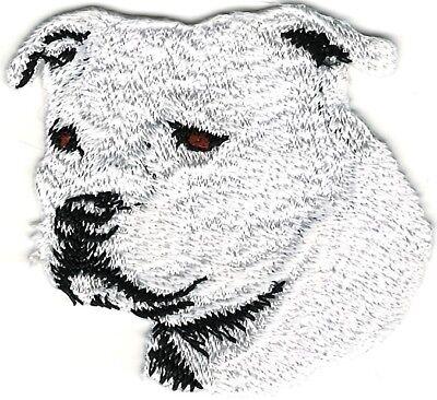 """2 1//8/""""x2 1//8/"""" Bouvier Des Flanders Portrait Dog Breed Embroidery Applique Patch"""